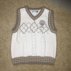 Catimini Knit Boys Vest Size 18 Months